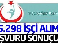Sağlık Bakanlığı 5298 Kadrolu  İşçi Alımı Göreve Başlama Duyurusu