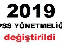 KPSS 2019 Yönetmeliği Değiştirildi!