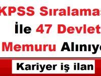 Erciyes Üniversitesi 47 Kamu Personeli Alıyor KPSS Sıralaması ile