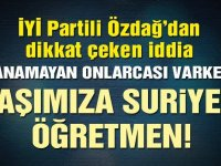 900 Suriyeli, Türk öğrencilere öğretmenlik yapacak!