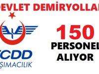 TCDD 157 Kamu Personeli Alım İlanı Yayımladı