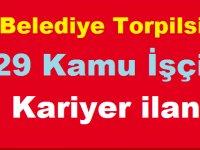Antalya Gündoğmuş Belediye Başkanlığı Torpilsiz 29 Kamu İşçisi Kariyer ilanı