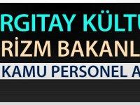 Turizm Kültür Bakanlığı ve Yargıtay Başkanlığı Kpss'siz 225 Kamu Personeli Alımı Yapıyor