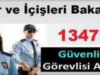 İŞKUR ve İçişleri Bakanlığı 1347 Güvenlik Görevlisi ve Korucu Alımı Yapıyor