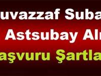 TSK Muvazzaf Subay ve Astsubay Alımı Başvuru Şartları 2019
