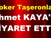 Joker Taşeronlar Ahmet Kayayı ziyaret etti.