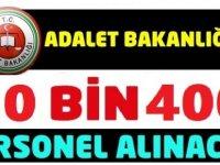 Adalet Bakanlığı CTE 10 Bin Devlet memuru Alımı Yapacak!