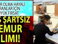 Adalet ve Sağlık Bakanlığı KPSS Şartsız 3127 Memur Alım ilanı