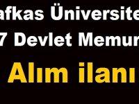 657/ 4-B (SÖZLEŞMELİ PERSONEL) ALIM İLANI