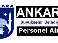 Ankara Büyükşehir Belediyesi Kamu İşçisi Alım ilanı