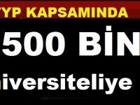 500 BİN Üniversiteliye TYP'de İŞ Fırsatı