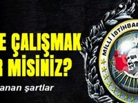 Milli İstihbarat Teşkilatı (MİT) Kamu Personel Alımı