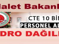 CTE Adalet Bakanlığı 10 Bin Kamu Personeli Alımı Kadroları