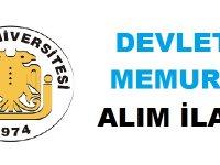 Dicle Üniversitesi Sözleşmeli Devlet Memuru Alımı Yapacak