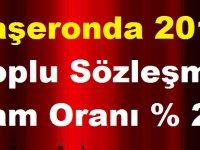 Taşeronda 2019 Toplu Sözleşme Zam Oranı % 25