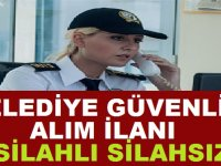 Osmangazi Belediyesi Güvenlik Görevlisi Alım ilanı