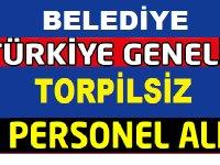 Gündoğmuş Belediye Başkanlığı ve Şırnak Belediye Kadrolu 53 Kamu Personeli Alımı