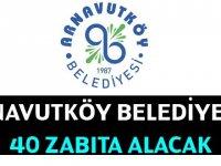Arnavutköy Belediye Başkanlığı 40 memur alımı