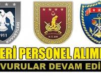 Türk Ordusu Astsubay Subay Alımı Ön Başvuruları (Online) Bitiyor