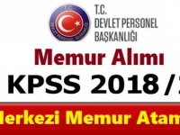 ÖSYM KPSS 2018/2 Merkezi Atama Tercih Kılavuzu