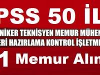 22 Kasım DPB KPSS 50 Puana Trabzon Büyükşehir Belediyesi 51 Devlet Memuru Alımı
