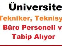 İzmir Bakırçay Üniversitesi Tekniker Teknisyen Büro Personeli ve Tabip Alıyor