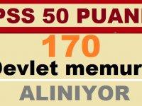KPSS en az 50 puan ile 170 zabıta memuru ve itfaiye eri alımı