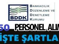 Bankacılık Düzenleme ve Denetleme Kurumu 150 Kariyer iş ilanı Başvurusu Bitiyor