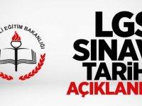 Son Dakika! LGS Liselere Giriş Sınavı Tarihi Açıklandı