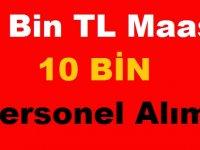 14 BİN TL Maaşla 10 Bin İşçi Alınacak!