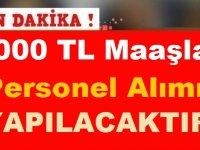 4000 TL Maaşla Sözleşmeli Personel Alımı Yapılıyor