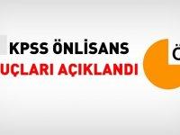 2018 KPSS Ön Lisans Sonuçları  Açıklandı!