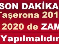 Taşerona 2019 2020 de ZAM Yapılmalıdır
