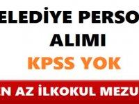 Gaziantep Araban Belediyesi En Az ilkokul Mezunu 13 Kamu Personel Alımı