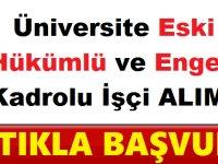 Kırıkkale Üniversitesi Engelli 3 , Eski Hükümlü 8 Kamu Personel Alımı