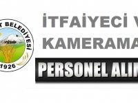 Eleşkirt Belediyesi İtfaiyeci ve Kameraman Personeli Alım İlanı