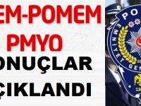 POMEM PMYO PAEM Polis Akademisi Sonuçları Açıklandı