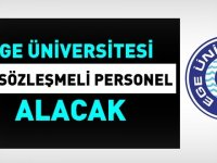 Ege Üniversitesi 147 Kamu Personeli Alımı