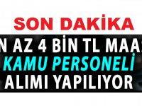 Türkiye Belediyeler Birliği, ilköğretimmezunu adaylar arasından işçi alımı