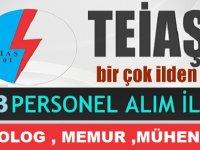 Türkiye Elektrik İletim A.Ş 193 KAMU PERSONELİ ALIMI
