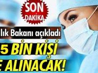 Sağlık Bakanlığı 25 Bin ATT, Hemşire, Ebe, Tekniker ve Teknisyen Alımı Yapacak