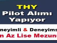 THY Pilot Alımı Yapıyor Şubat 2016