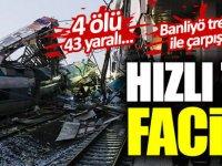 Yüksek Hızlı Tren Kaza yaptı Ölü ve yaralılar var