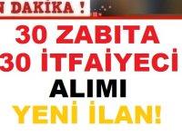 Sivas Belediyesi 60 personel 30 zabıta memuru 30 itfaiye eri Alım ilanı