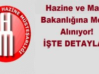 Hazine ve Maliye Bakanlığına Memur Alımı İlanı