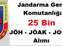 Jandarma Genel Komutanlığı En Az Lise Mezunu 25 Bin JÖH - JÖAK - JOPER Alımı