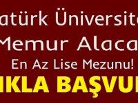 Atatürk Üniversitesi Diş Hekimliği Fakültesi Kamu Personeli Alım ilanı