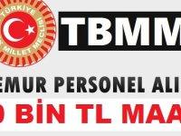 Türkiye Büyük Millet Meclisi Başkanlığı TBMM 18 Kamu Personeli Alımı