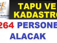 Tapu ve Kadastro Genel Müdürlüğü 264 Devlet Memuru Alımı