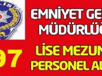 Emniyet Genel Müdürlüğü (EGM) Kadrolu İşçi, Aşçı , Pisikolog , Avukat ve Hizmetli Alım ilanı